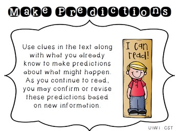 4th Grade Reading Wonders Focus Wall Strategies - Units 1-