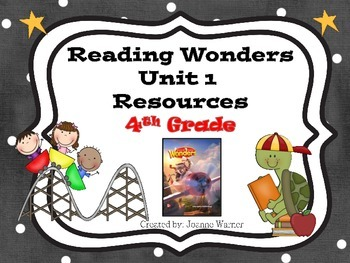 4th Grade Reading Wonders Resources Unit 1