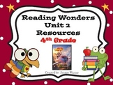 4th Grade Reading Wonders Resources Unit 2