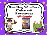 4th Grade Reading Wonders Resources ~ Units 1-6 ~ Full Year of Review