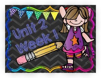 4th Grade Reading Wonders Unit 2 Spelling Sorts