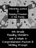 4th Grade Reading Wonders Unit 3 Week 3