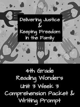 4th Grade Reading Wonders Unit 3 Week 3