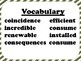 4th Grade Reading Wonders Unit 6 Week 3 Vocabulary with Definitions Word Wall
