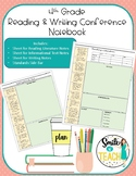 4th Grade Reading & Writing Conference Notes Notebook