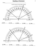 4th Grade (4.7C) STAAR: Reading a Protractor and Test (35