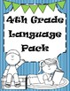 4th Grade Reading and Grammar Bundle