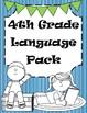 4th Grade Reading and Grammar Bundle