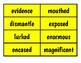 4th Grade Ready Gen Vocabulary Cards