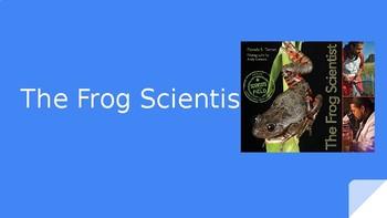 4th Grade Ready Gen vocabulary: The Frog Scientist