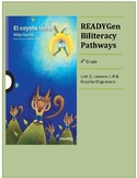 4th Grade ReadyGen Biliteracy Pathways Unit 2 Lesson Plans & Graphic Organizers