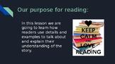 4th Grade Readygen Reading Lesson Powerpoint Unit 1A Lesson 1