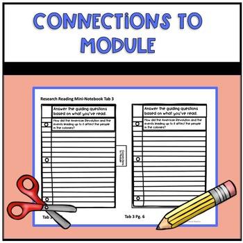 4th Grade Research Reading Mini Notebook for EL Education Module 3