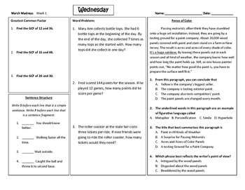 4th Grade Review