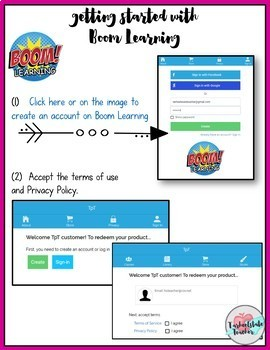 4th Grade Review Task Cards | End of Year Summer Math Boom Cards