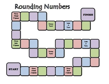 4th Grade ~ Rounding Numbers to Any Place Value Game 4.NBT.3