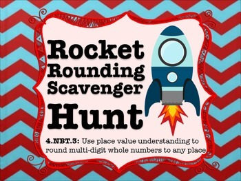 4th Grade Rounding Scavenger Hunt