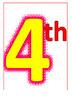 4th Grade Rules! Decoration (12 mini-Posters)
