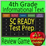 4th Grade SC READY Test Prep Informational Text and Non-Fiction Review Game