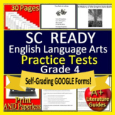 4th Grade SC READY Test Prep Practice Tests Bundle for English Language Arts