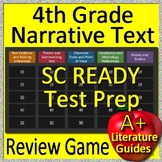 4th Grade SC READY Test Prep Reading Literature and Narrative Review Game