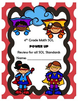 4th Grade SOL Practice by Standard