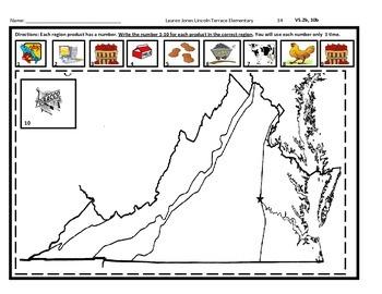 4th Grade SOL Virginia Studies Spiral Review #34
