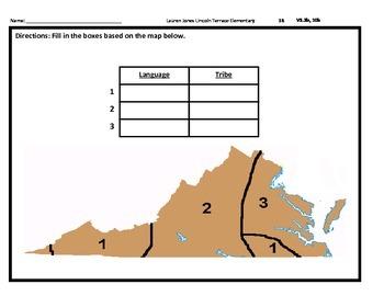 4th Grade SOL Virginia Studies Spiral Review #38