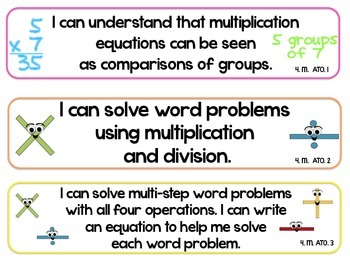 4th Grade SOUTH CAROLINA Math Standards