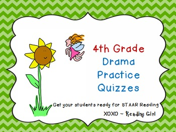 4th Grade STAAR Drama Practice by Reading Girl XOXO | TpT
