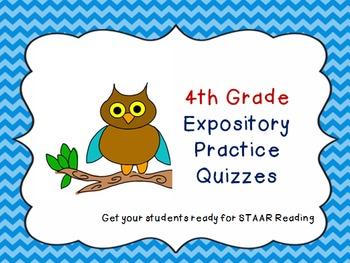 4th Grade STAAR Expository Practice
