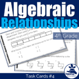 4th Grade STAAR Math Task Cards #4
