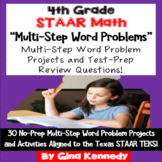 4th Grade STAAR Math Multi-step Word Problems, Enrichment