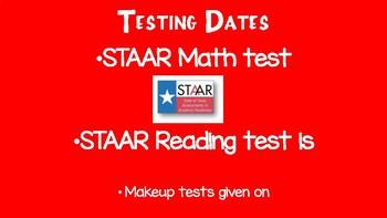 4th Grade STAAR Parent Night Presentation