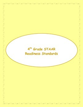 4th STAAR Readiness Standards Review (Previous TEKS)