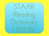 4th Grade STAAR Reading Dictionary