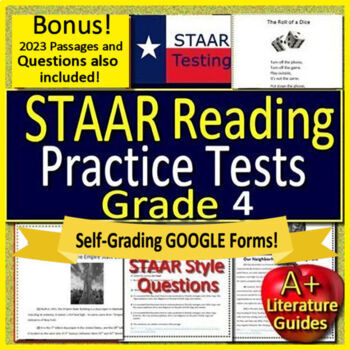 History staar test prep teaching resources teachers pay teachers 4th grade staar test prep practice tests reading review bundle fandeluxe Gallery
