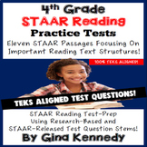 4th Grade STAAR Reading Practice Tests, Aligned Review!