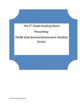 4th Grade STAAR Style Fiction Review or Assessment