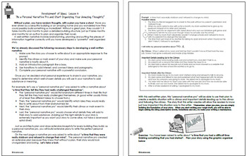 STAAR Writing Personal Narrative Complete Guide, Activities and Prompts!