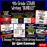 4th Grade STAAR Writing Product Bundle, All Products in PDF and Digital!