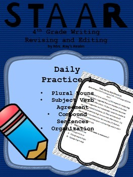 Daily Practice 1-STAAR Writing Revising and Editing