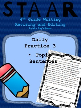 Daily Practice 3-STAAR Writing Revising and Editing