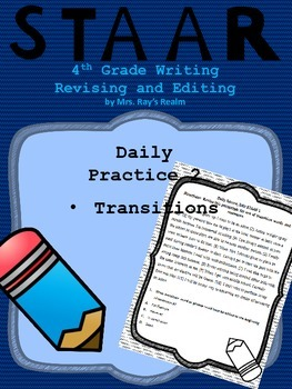Daily Practice 2-STAAR Writing Revising and Editing