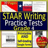 4th Grade STAAR Writing Revising & Editing Test Prep - PRI