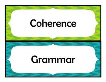 4th Grade STAAR Writing Vocabulary