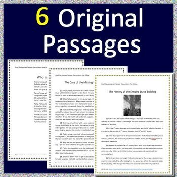 4th Grade STAAR Writing and 4th Grade STAAR Reading Practice Tests ELA Test Prep