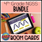4th Grade Science Boom Cards Bundle | NGSS Digital Assessments