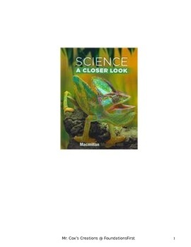 A - 4th Grade Science - Complete Study Guides and Tests - Macmillan/McGraw-Hill