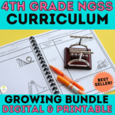 4th Grade Science Curriculum |  NGSS Whole Year Bundle | G